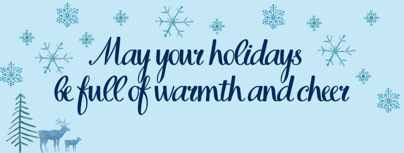 From our staff to you...
