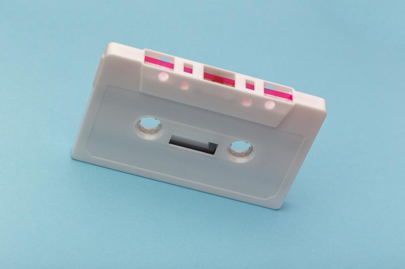 Canva - White Cassette Tape