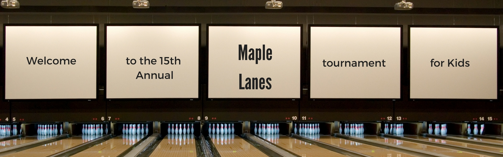 tournament maple lanes